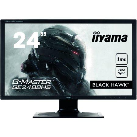 "Iiyama GE2488HS-B2 24"" Черный, TFT TN, 1920x1080, Full HD, HDMI, DVI"