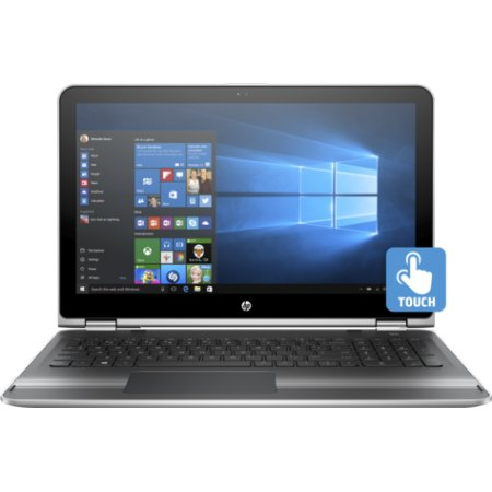 "HP Pavilion 15x360 15.6"", Intel Core i5, 2300МГц, 4Гб RAM, 500Гб, Серебристый, Wi-Fi, Windows 10, Bluetooth"