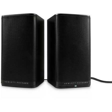 HP 2.0 S5000 Черный, 2.0, mini jack, Пластик