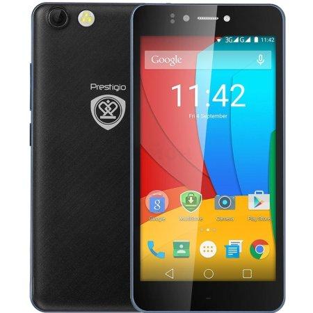 Prestigio Muze D3 8Гб, Черный, Dual SIM, 3G