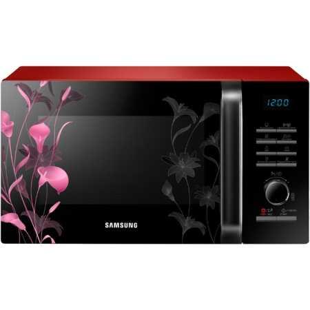Samsung MG23H3115FR Красный, Гриль, 800Вт, 23л