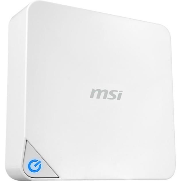 MSI Cubi 228XRU Intel Celeron, 1700МГц, 4Гб, 500Гб, без ОС, Белый