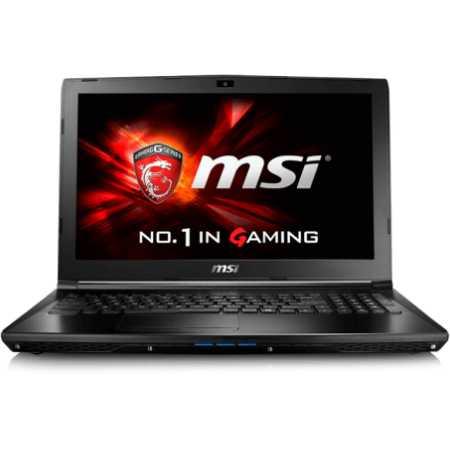 """MSI GL62 6QD-009XRU 15.6"""", Intel Core i5, 2300МГц, 8Гб RAM, DVD-RW, 1Тб, Черный, Wi-Fi, DOS, Bluetooth"""