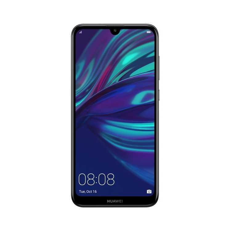 Huawei Y7 2019 Midnight Black 64 Gb