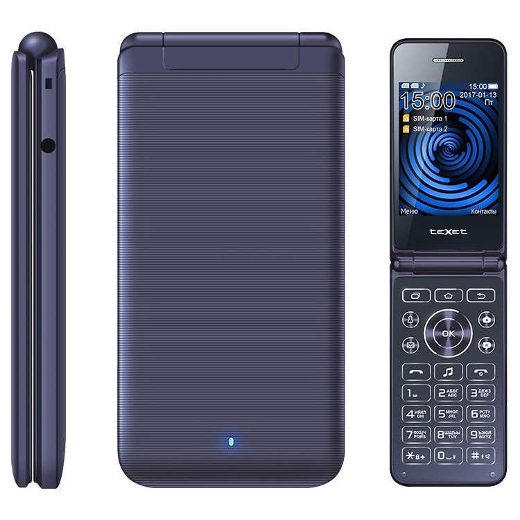 TeXet TM-400 Синий