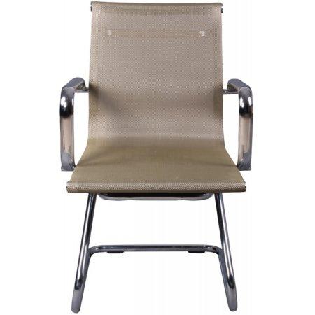 Кресло Бюрократ CH-993-Low-V/gold низкая спинка золотистый сетка