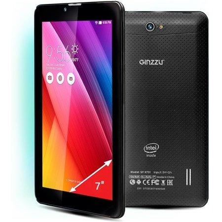 """Ginzzu GT-X731, 7"""", 8Gb, Wi-Fi+3G Черный"""