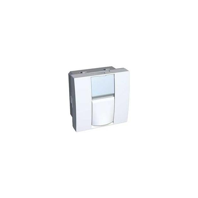 Schneider Electric Altira 45x45 мм накладка для одного S-One коннектора, white