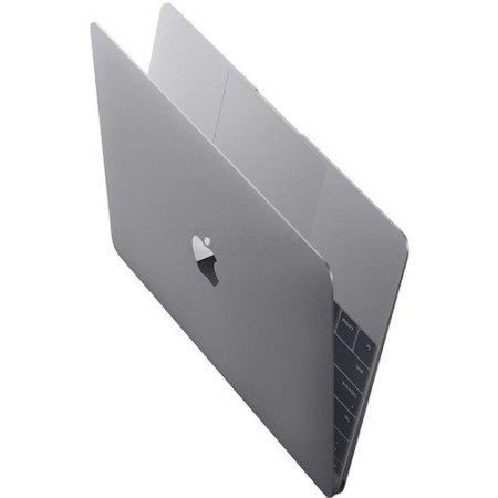 "Apple MacBook 12"", Intel Core M3, 1100МГц, 8Гб RAM, DVD нет, 256Гб, Серый, Wi-Fi, MacOS X"
