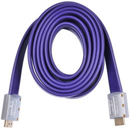 Кабель аудио-видео Buro HDMI (m)/HDMI (m) 3м. (HDMI19M-19M FLAT3)