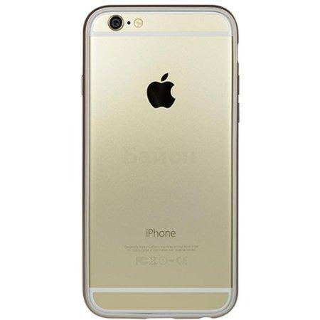 Power Support Arc PYC-52AJ для Apple iPhone 6 чехол-бампер, пластик, Золотой