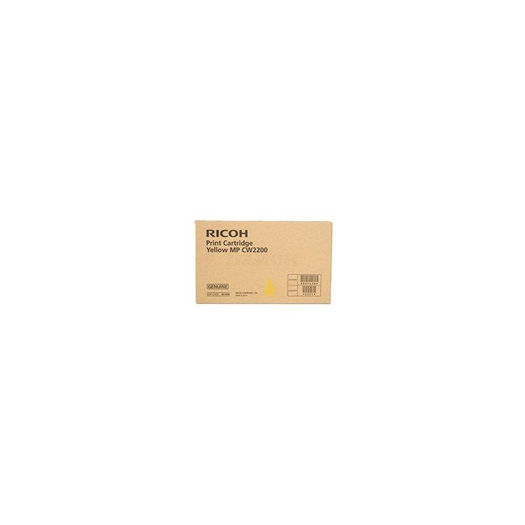 Ricoh MP CW2200 Желтый, Тонер-картридж, Стандартная, нет