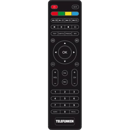 "Telefunken TF-LED42S37T2 42"", Черный, 1920x1080, без Wi-Fi, Вход HDMI"