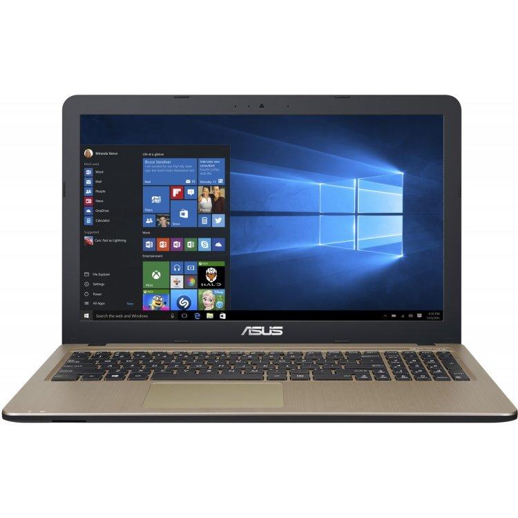 "Asus VivoBook X540SA-XX039D 15.6"", Intel Pentium, 1600МГц, 4Гб RAM, DVD нет, 1Тб, Черный, Wi-Fi, DOS, Bluetooth"