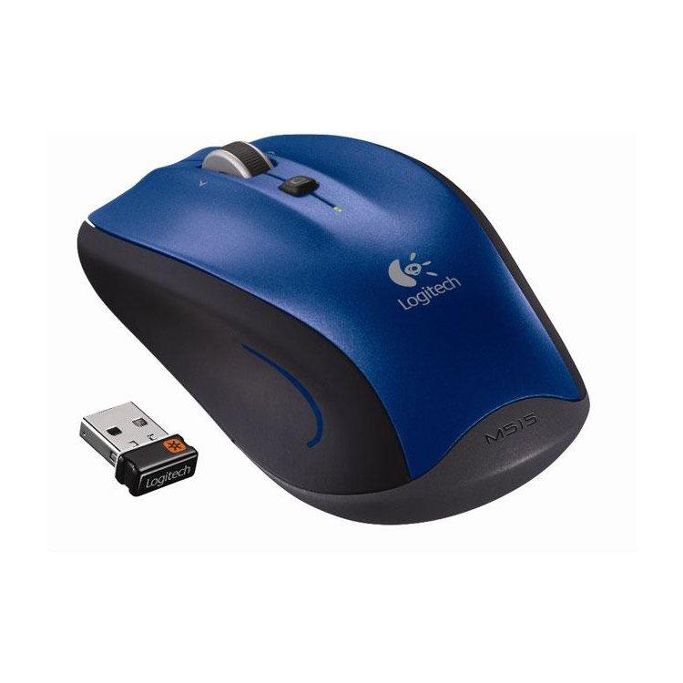Logitech Wireless Mouse M515, Радиоканал, USB