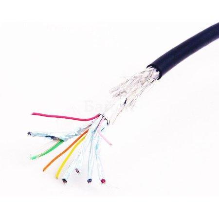Прочее Кабель HDMI Gembird/Cablexpert CC-HDMI4-1M, 1м, v1.4, 19M/19M, черный, позол.разъемы, экран, пакет