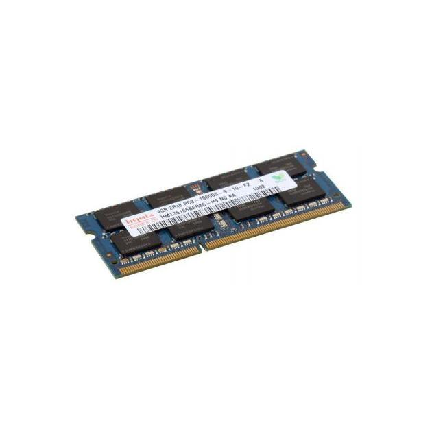 SO-DIMM DDR 3 DIMM 4Gb PC10600, 1333Mhz, Hynix retail