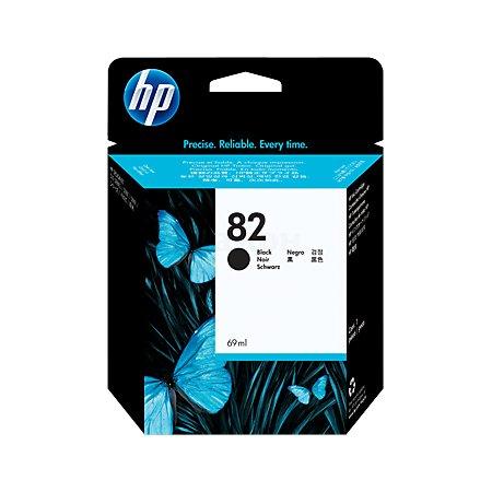 HP 82 Черный, Картридж струйный, Стандартная, нет