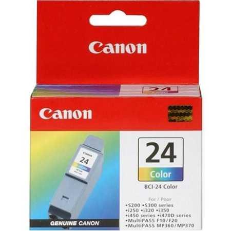 Canon BCI-24 Color Картридж струйный, Не указан, Стандартная, Голубой, Желтый, Пурпурный