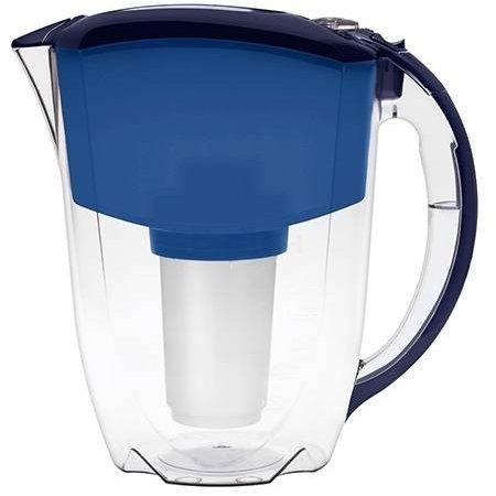 Фильтр для воды Аквафор Люкс (с индикатором ресурса) синий