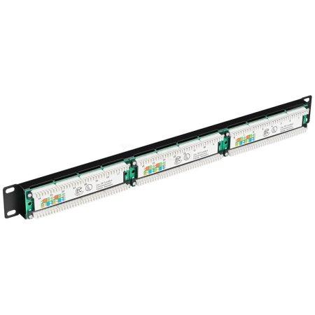 1U патч-панель кат.5Е UTP, 24 порта (IDC Dual)
