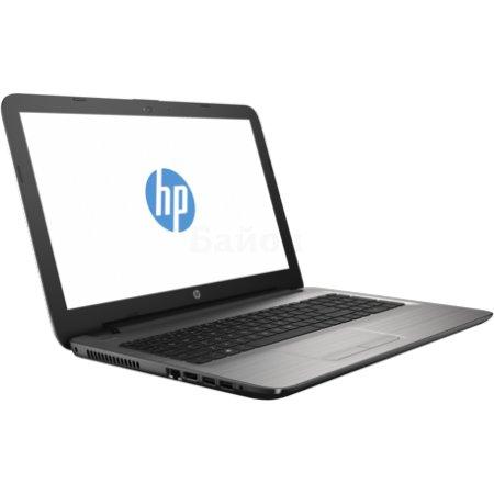 "HP 15-ay047ur 15.6"", Intel Pentium, 1600МГц, 4Гб RAM, DVD-RW, 1Тб, Серебристый, Wi-Fi, Windows 10, Bluetooth"