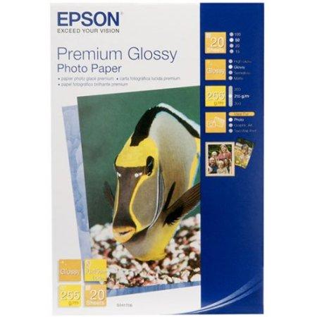 Epson Premium Glossy Photo Paper Фотобумага, A4, 50, глянцевая