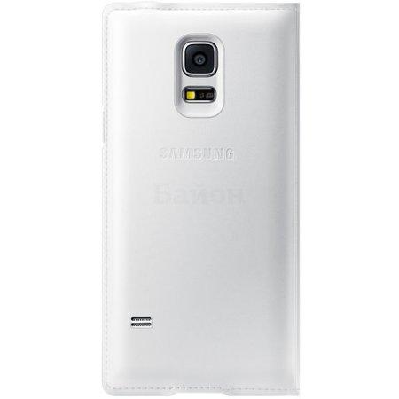 Samsung EF-FG800BWEGRU чехол-книжка, кожзам, Белый