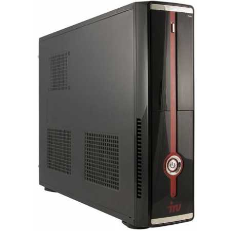 IRU Office 311 SFF i3 4170/4Gb/500Gb 7.2k/HDG4400/DVDRW/W7Pro64/kb/m/black 3700МГц, Intel Core i3, 1024Гб