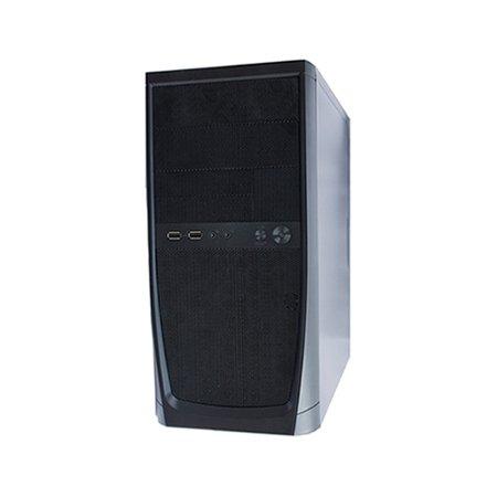 "Powercase ES725 400W microATX, 3.5"" x 2, 2.5"" x 1"