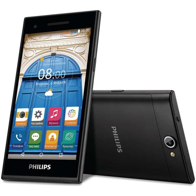Philips S396Смартфоны<br>Операционная система Android , Фотокамера 8.0 Мп, SIM-карты Dual SIM...<br><br>Артикул: 1270534<br>Производитель: Philips<br>Цвет: Черный<br>Операционная система: Android<br>SIM-карты: Dual SIM<br>Размер экрана: 5  (12.7 см)<br>Оперативная память (RAM): 1 Гб<br>Встроенная память: 8 Гб<br>Фотокамера: 8.0 Мп