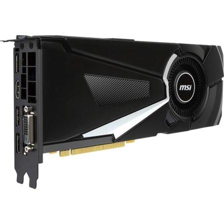 MSI NVIDIA GeForce GTX 1070 AERO 8G 1531MHz, PCI-Ex16 3.0, 8pin x 1 GTX 1070 AERO 8G - 8192Мб, GDDR5, 1531MHz, PCI-Ex16 3.0, 8pin x 1