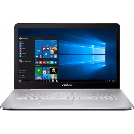 "ASUS N752VX-GC275T 17.3"", Intel Core i5, 2300МГц, 8Гб RAM, DVD-RW, 1Тб, Не указан, Wi-Fi, Windows 10"