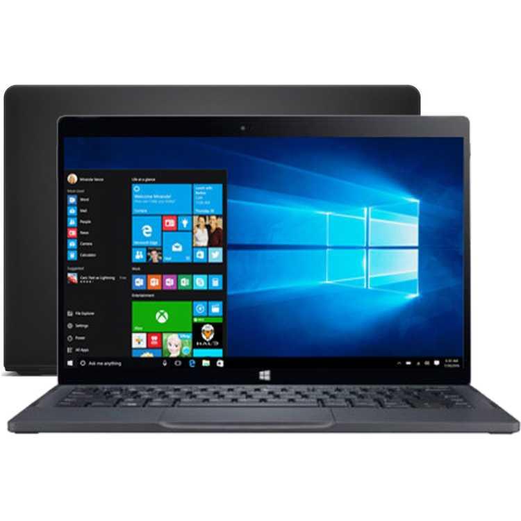 "Dell XPS 12 Ultrabook 12.5"", Intel Core M5, 1100МГц, 8Гб RAM, DVD нет, 128Гб, Черный, Wi-Fi, Windows 10, Bluetooth"