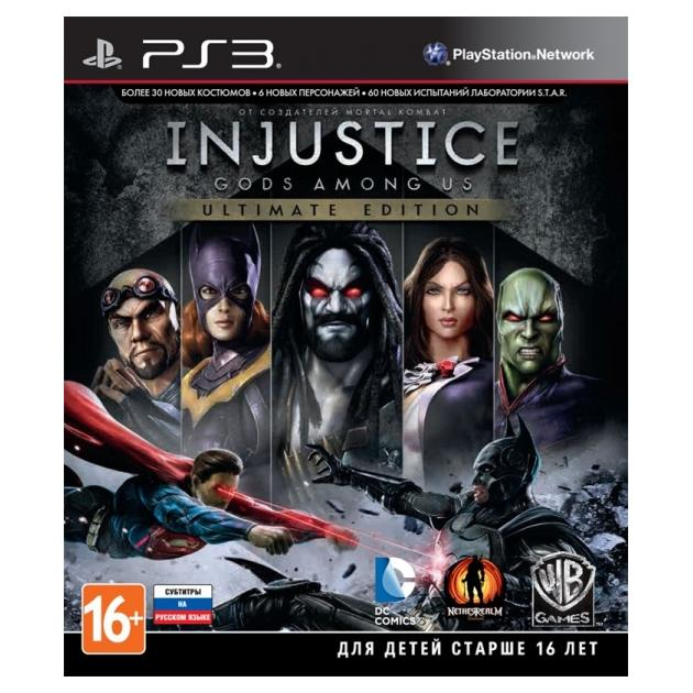 Софтклаб Injustice: Gods Among Us. Ultimate Edition Sony PlayStation 3 5051892148979