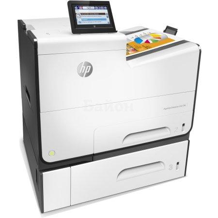 HP PageWide Enterprise Color 556xh Лазерный \ светодиодный, Белый, Цветная, А4