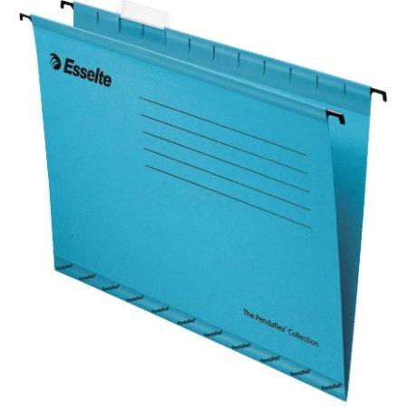 Папка подвесная Esselte Pendaflex Plus Foolscap синий 90334 компл.:25шт 90334 синий 25шт