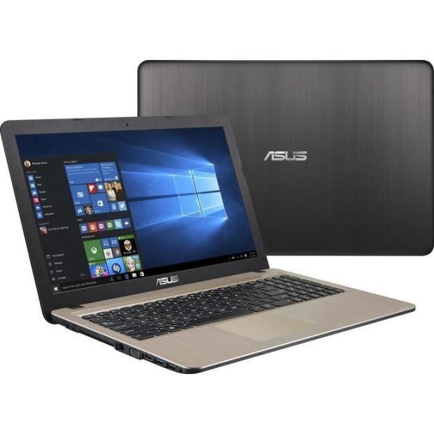 "Asus X541SA 15.6"", Intel Celeron, 1600МГц, 2Гб RAM, DVD нет, 500Гб, Черный, Wi-Fi, Windows 10, Bluetooth"