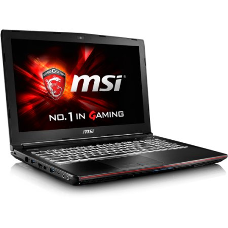 "MSI GE62 Apache 6QC-079XRU 15.6"", Intel Core i7, 2600МГц, 8Гб RAM, 1Тб, Черный, Wi-Fi, DOS, Bluetooth"