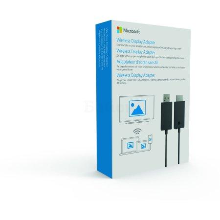 Беспроводной проекционный адаптер от Microsoft Wireless Display adapter V2 Черный