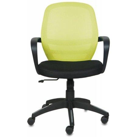 Кресло Бюрократ CH-499/Z3/TW-11 спинка сетка салатовый Z3 сиденье черный TW-11