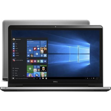 "Dell Inspiron 5758-8993 17.3"", Intel Core i3, 2400МГц, 4Гб RAM, 1Тб, Серебристый, Wi-Fi, Linux, Bluetooth"