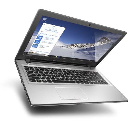 "Lenovo IdeaPad 300-15ISK 80Q701JVRK 15.6"", Intel Core i3, 2300МГц, 4Гб RAM, DVD-RW, 500Гб, Серебристый, Wi-Fi, Windows 10, Bluetooth"