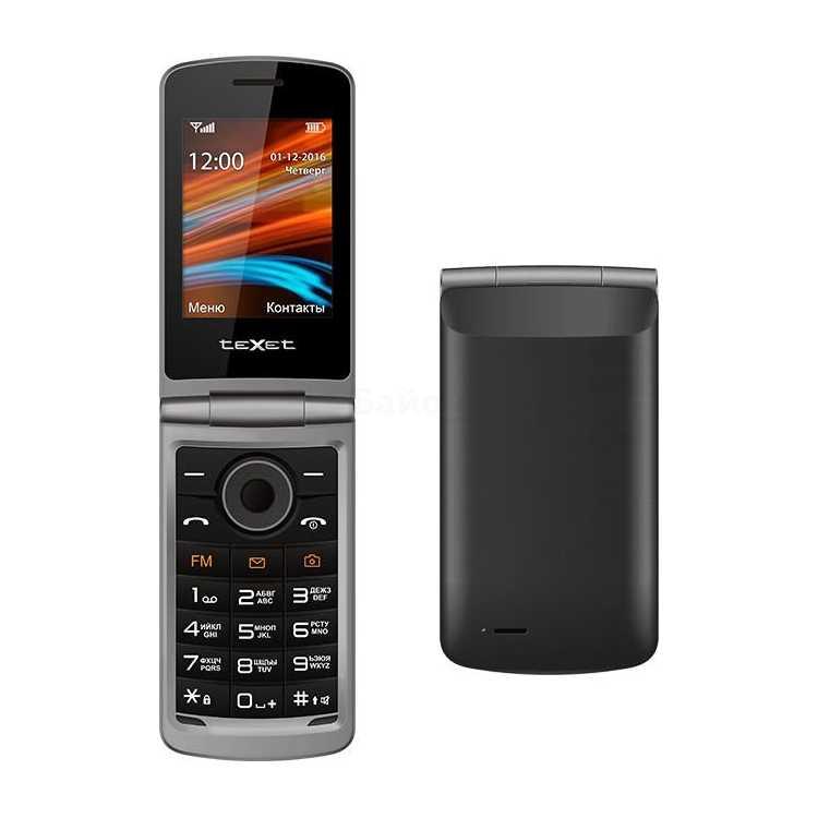 TeXet TM-404 Черный