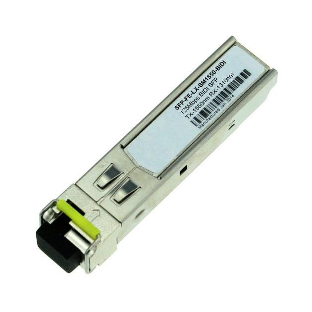 Huawei BiDi transceiver,eSFP,Tx1550nm/Rx1310nm,155M,-15dBm,-8dBm,-32dBm,LC/PC,SM,15km (SFP-FE-LX-SM1550-BIDI) 34060364