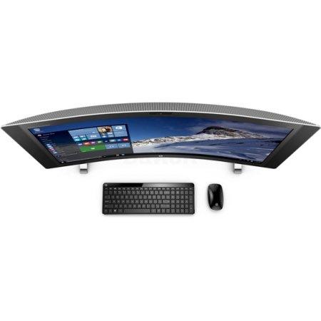 HP Envy Curved 34-a090ur P4S88EA 1 Тб HDD, Серебристый, 8Гб, 128Гб, Windows, Intel Core i7