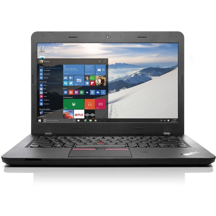 "Lenovo ThinkPad Edge E460 20ETS00500 14"", Intel Core i5, 2300МГц, 4Гб RAM, DVD нет, 520Гб, Windows 10 Pro, Windows 7, Черный, Wi-Fi, Bluetooth"