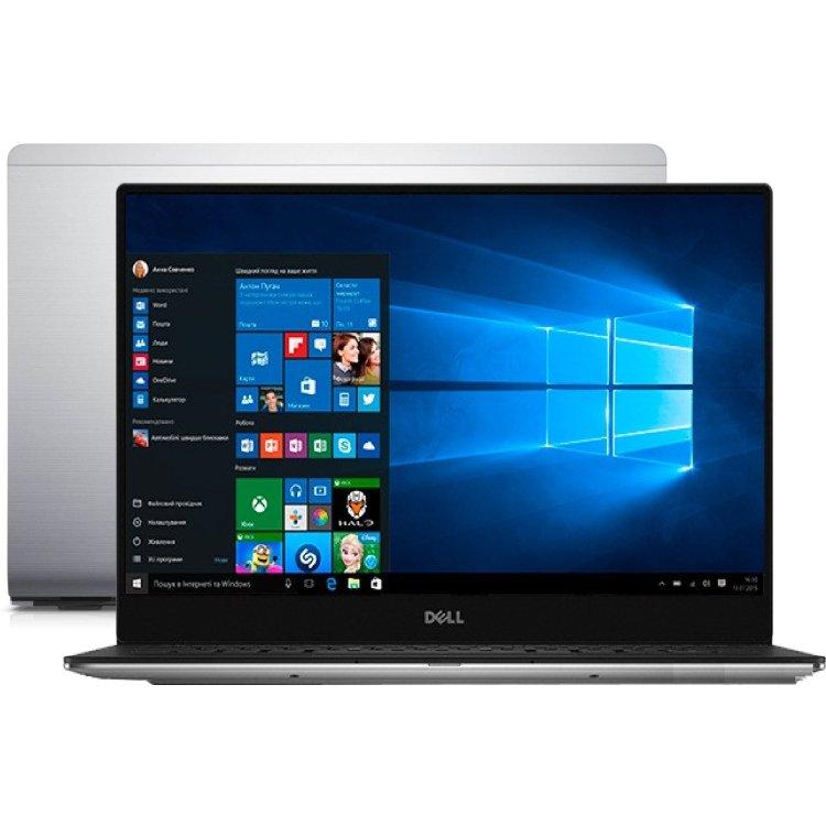 "Dell XPS 13 9350-2327 13.3"", Intel Core i7, 2200МГц, 8Гб RAM, DVD нет, 256Гб, Wi-Fi, Windows 10, Bluetooth"