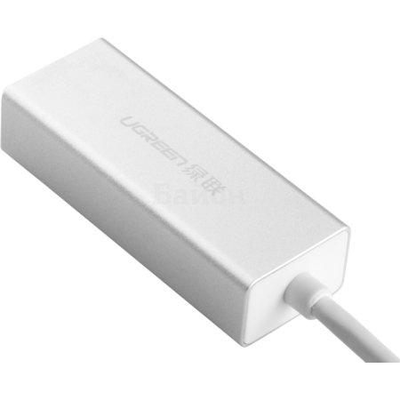 UGreen UG-20258 0.1м, USB-A, Белый