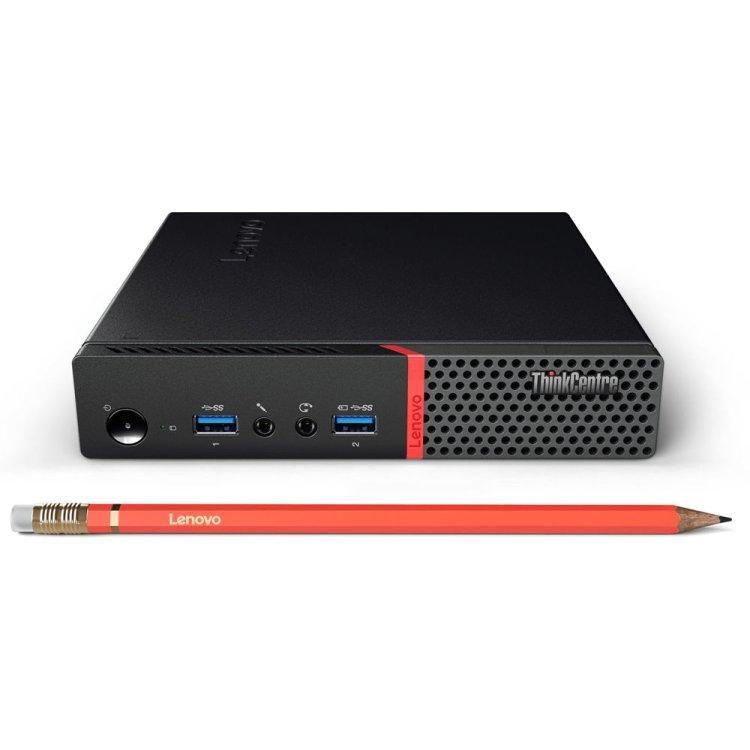 Lenovo ThinkCentreTiny M600 Intel Pentium, 1600МГц, 4Гб RAM, 500Гб, Ubuntu
